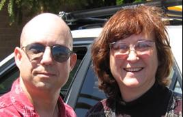 Dan Burisch and Marcia McDowell